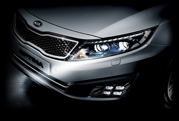 2016 Kia Optima Front Headlights